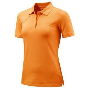 Beretta Special Purchase Women's Corporate Polo Short Sleeve Large Cotton Orange