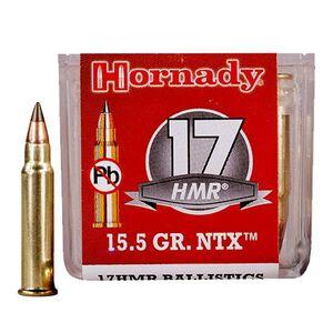 Hornady Varmint Express .17 HMR Ammunition 50 Rounds NTX Lead Free 15.5 Grains 83171