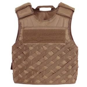 Voodoo Tactical F.A.S.T. Vest with Universal Lattice MOLLE XL-2XL Coyote 20-771007330