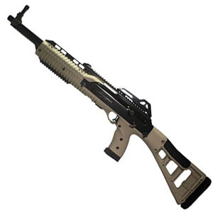 """Hi-Point Carbine Semi Auto Rifle 9mm Luger 16.5"""" Barrel 10 Rounds Polymer Stock Flat Dark Earth"""