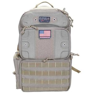 """G. Outdoors G.P.S. Tactical Range Backpack """"Tall"""" Tan"""