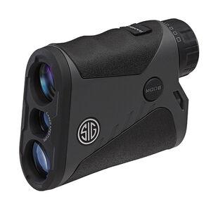 SIG Sauer Kilo1400BDX Laser Rangefinder 6x20mm Ballistic Data Xchange Compatible BDX-R1 Reticle LCD Display Graphite/Black Finish