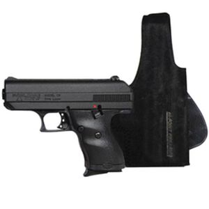 "Hi-Point C-9 Semi Auto Handgun 9mm Luger 3.5"" Barrel 8 Rounds Black Finish with Holster"