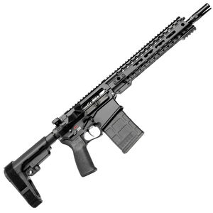 "POF USA Revolution DI .308 Winchester Semi Auto Pistol 12.5"" Barrel 20 Rounds Direct Gas Impingement System 11.5"" M-LOK Free Float Rail Matte Black Finish"