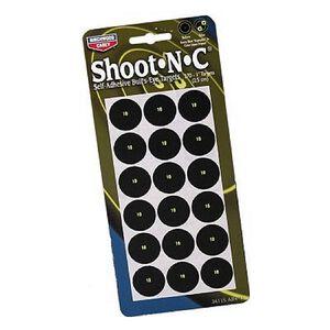 Birchwood Casey 1-inch Round Bullseye Shoot-N-C Targets 18 Pack