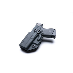 Crucial Concealment Covert OWB Holster fits GLOCK 43/43X Right Hand Optics Compatible Polymer Black
