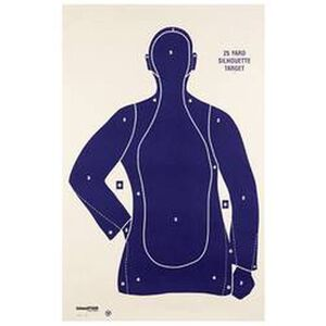 Champion Police Silhouette Target B21E Package of 100