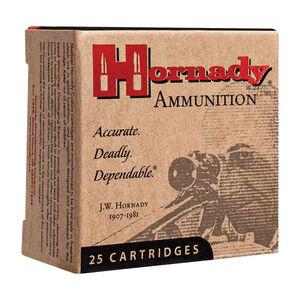 Hornady Custom .32 ACP Ammunition 25 Rounds 60 Grain Hornady XTP Jacketed Hollow Point 1000fps