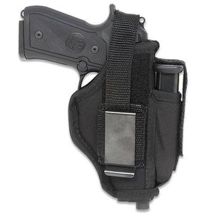 "Gunmate Ambidextrous Hip Holster Large Frame Autos 4"" Barrels Size 10 Synthetic Black"