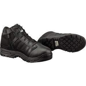 "Original S.W.A.T. Metro Air 5"" Side Zip Men's Boot Size 11.5 Wide Non-Marking Sole Leather/Nylon Black 123101W-115"