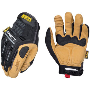 Mechanix Wear Material4X M-Pact Glove, Small, Black/Tan