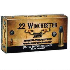 Aguila .22 Winchester Ammunition 50 Rounds LRN