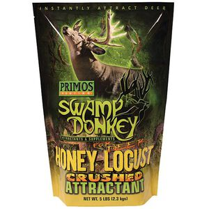 Primos Swamp Donkey Honey Locust Crushed Deer Attractant 5 lb Bag 58522