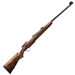 "CZ 550 American Safari Magnum Bolt Action Rifle .416 Rigby 25"" Barrel 3 Rounds Express Sights American Style Shaped Turkish Walnut Stock Blued Finish"