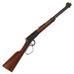 """Henry Repeating Arms Model H001L Lever Action Rimfire Carbine .22 Long Rifle 16.125"""" Barrel 12 Rounds Walnut Stock Blued Finish"""