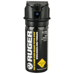 Ruger Pro Extreme Speed Release Pepper Spray 1.4 oz Black