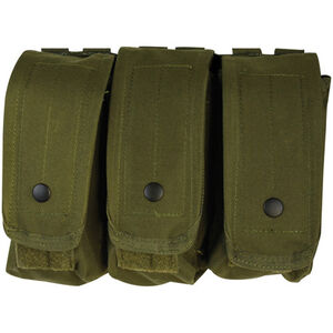 Fox Outdoor AR-15/AK-47 Triple Mag Pouch Olive Drab 57-030