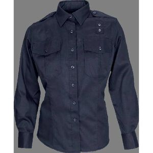 5.11 Tactical Women's Taclite PDU Long Sleeve Shirt Poly Cotton Extra Large Regular Navy 62366