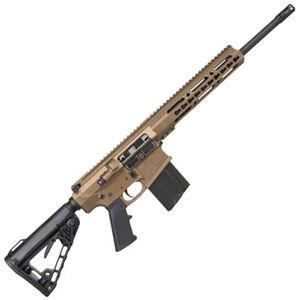 "Diamondback Firearms DB10 .308 Win Semi Auto Rifle 16"" Barrel 20 Rounds Free Float 10"" Keymod Handguard Collapsible Stock Burnt Bronze"