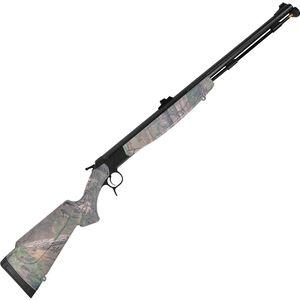 "CVA Optima V2 Nitride Barrel Break Action Black Powder Rifle .50 Caliber 26"" Barrel RealTree Xtra Green Synthetic Stock Black Nitride Finish PR2023N"