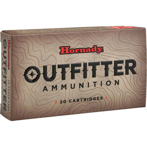 Hornady Outfitter .270 WSM Ammunition 20 Rounds GMX 130 Grains