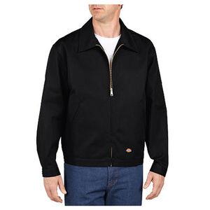 Dickies Men's Unlined Eisenhower Twill Jacket Medium Regular Black JT75BK