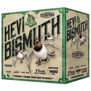 """Hevi-Shot Hevi Bismuth Waterfowl Ammunition 12 Gauge 25 Rounds 2-3/4"""" #4 Hevi-Bismuth Shot 1450 fps"""