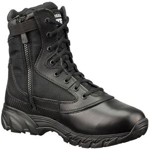 "Original S.W.A.T. Chase 9"" Tactical Side Zip Boot Nylon/Leather Size 12 Regular Black 1312-BLK-12"