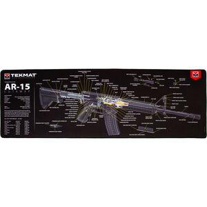"TekMat Ultra Premium AR-15 Cutaway Mat, Neoprene, 15""x44"""