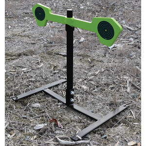 GSM Outdoor/SME Hand Gun Reactive Spinning Steel Target .38-44 Caliber Lead Soft Nose Only 2 High Visibility Targets