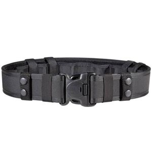 "Bianchi 7235 Duty Belt System 38-40"" Waist 2.25"" Quick Release Buckle Loop Lined Five Part Laminate Construction With Liner and Keepers Black 24777"