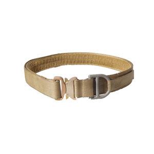 "HSGI Cobra 1.75"" D-Ring Riggers Belt with Belt Mount Velcro Liner Large Coyote Brown"