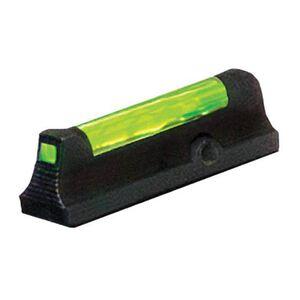 HiViz Front Sight Ruger LCR Green Fiber Steel Black LCR2010-G