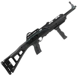 """Hi-Point Firearms Carbine Semi Automatic Rifle .40 S&W 17.5"""" Barrel 10 Rounds Polymer with Forward Grip Black Finish 4095TSFG"""