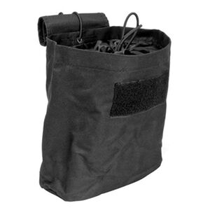 "NcSTAR Folding Dump Pouch 7.5""x8.5""x3.5"" PVC Fabric Black"