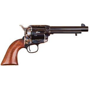 """Cimarron Model P Revolver .357 Mag 5.5"""" Barrel 6 Rounds Case Hardened Frame Walnut Grip Standard Blue"""