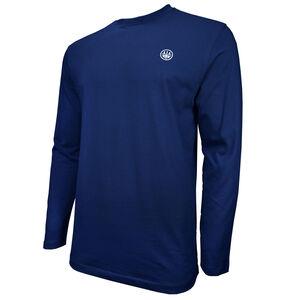 Beretta USA Logo Long Sleeve T-Shirt Cotton 3X-Large Navy