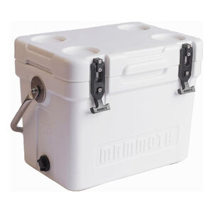 Mammoth Coolers Cruiser 25 Dry Ice Capable 22 qt White