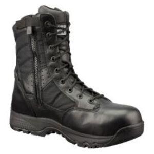 "Original S.W.A.T. Metro Safety Boots 9"" Waterproof Side Zip Leather/Nylon Rubber Size 8.5 Regular Black 129101-08.5/EU41.5"