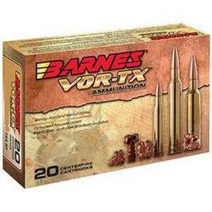 Barnes VOR-TX .270 WSM Ammunition 20 Rounds 140 Grain TSX BT Lead Free 3135 fps
