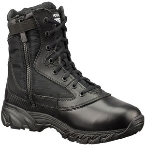 """Original S.W.A.T. Chase 9"""" Tactical Side Zip Boot Nylon/Leather Size 10.5 Regular Black 1312-BLK-10.5"""