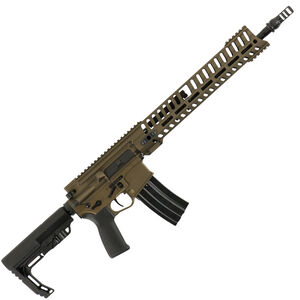 "POF USA P415 Edge Semi Auto Rifle .300 AAC Blackout 16.5"" Barrel 30 Rounds Short Stroke Gas Piston System 14.5"" M-LOK Rail Burnt Bronze Finish"