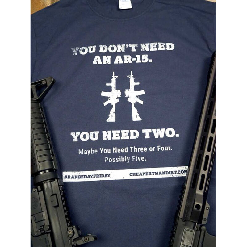 Exclusive Cheaper Than Dirt Range Day Friday T-Shirt