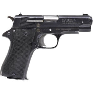 """Century Arms STAR Model BM 9mm Luger Semi Auto Pistol 8 Rounds 3.77"""" Barrel Fixed Sights Used/Surplus Black"""