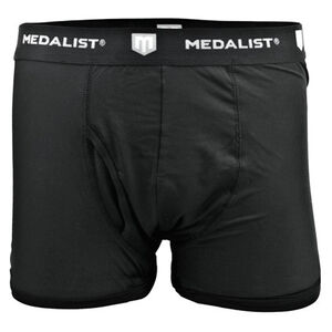 Medalist Men's Tactical Shield Boxer Briefs Polyester/Spandex Medium Black 2 Pack M4635BLM