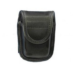 Bianchi 7915 Pager Glove Pouch Hidden Snap Accumold Plain Black 22114