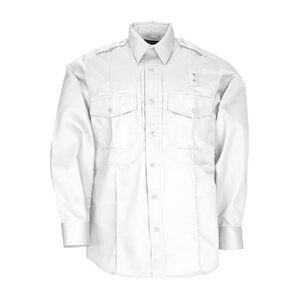 5.11 Tactical Twill PDU Shirt - B Class - Long Sleeve Shirt Men's XL Regular Polyester/Cotton Twill Midnight Navy 72345750XLR