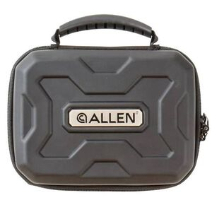 "Allen Exo Thermo-Molded Handgun Case Fits Guns Up To 9"" Black"