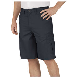 "Dickies Men's Industrial Flat Front Shorts 34"" Waist Black"