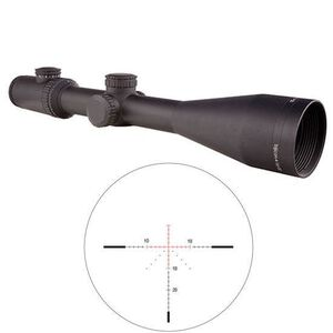 Trijicon AccuPower Rifle Scope 4-16x50 Illuminated Red Crosshair Reticle Battery Matte Finish 1900020